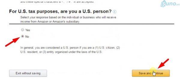 cách đăng ký tài khoản trên amazon