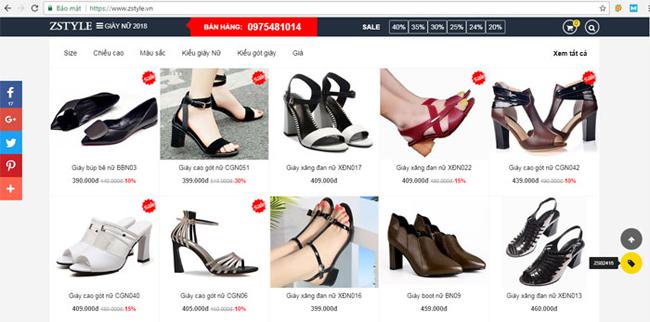 Bán hàng giày dép online 2019 Hướng Dẫn Bán Hàng Giày Dép Online Hiệu Quả 2019