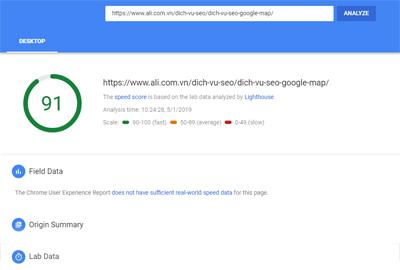Check lỗi website google Công cụ kiểm tra web chuẩn seo