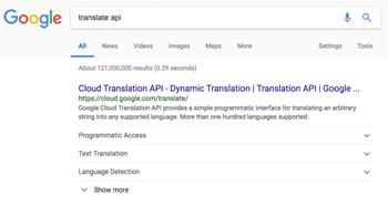 Định dạng mới cho Google Sitelinks