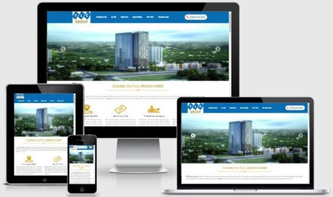 Thiết kế web bất động sản cần lưu ý những gì