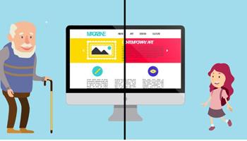 Thiết kế website Age Responsive là gì?