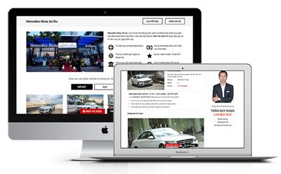 Thiết kế website bán ô tô Thiết kế web ô tô chuyên nghiệp