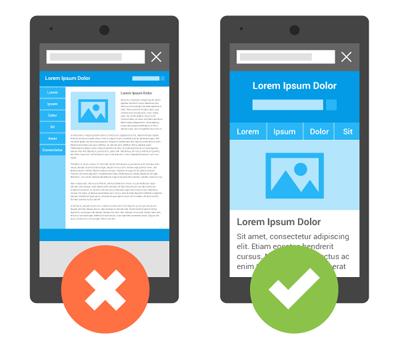 Thiết kế website có phiên bản mobile trở thành nhân tố xếp hạng quan trọng của google