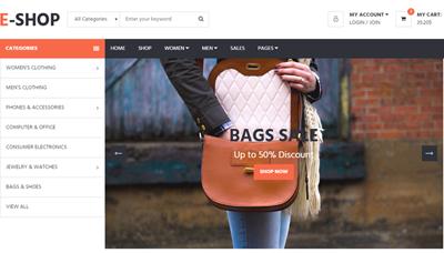 Top 15 mẫu thiết kế web thương mại điện tử miễn phí tốt nhất